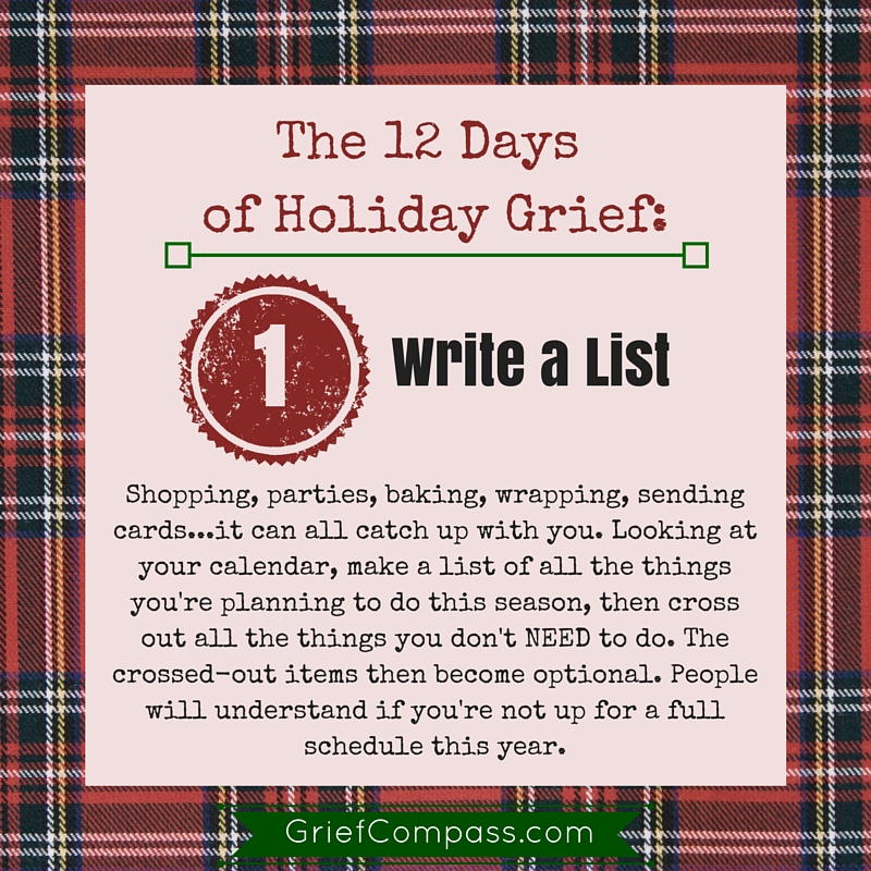 Holiday Grief Help