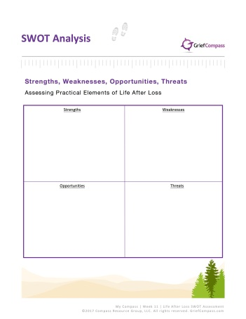Grief Compass SWOT